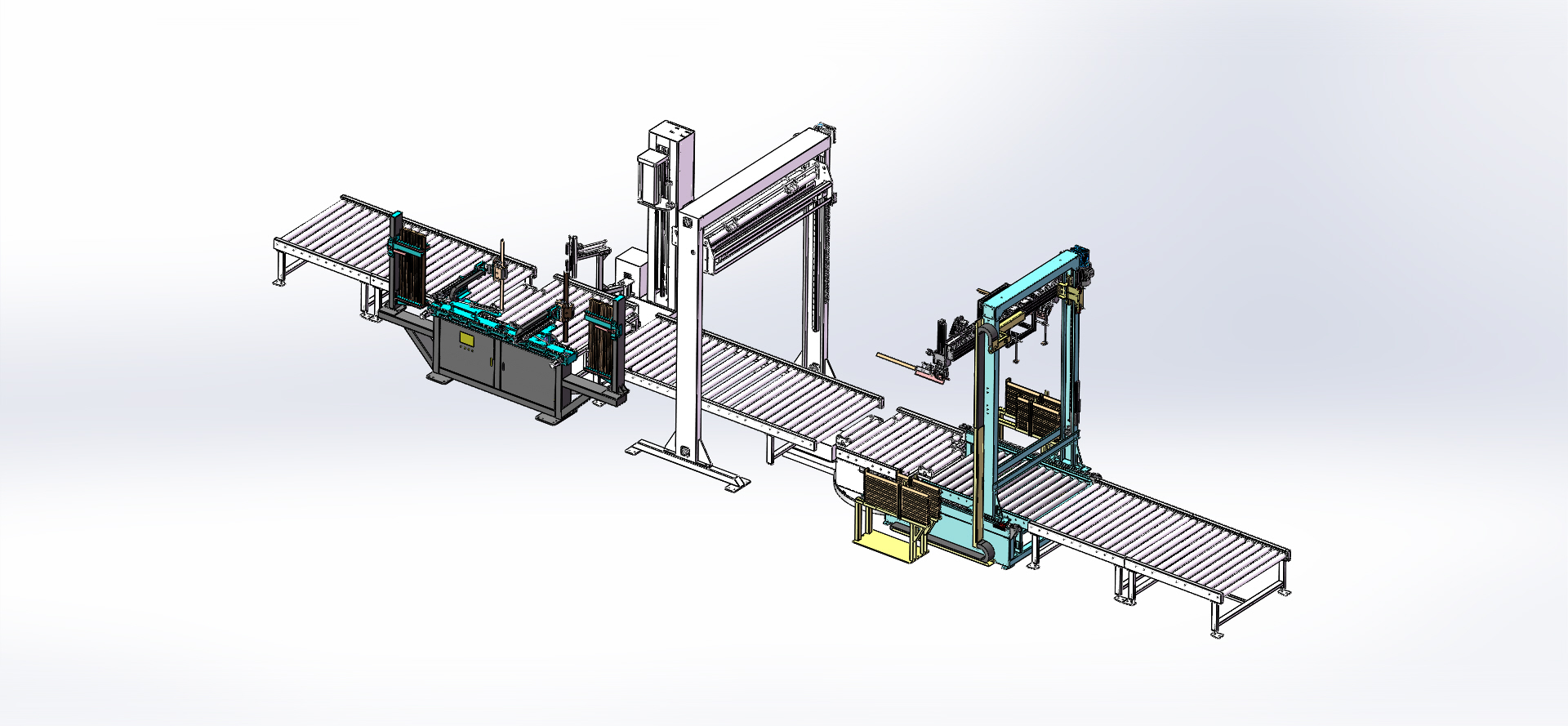 自动化流水线包装设备