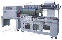 L型封切收缩包装机YK-L4535+YK-LS4525,封切收缩包装机